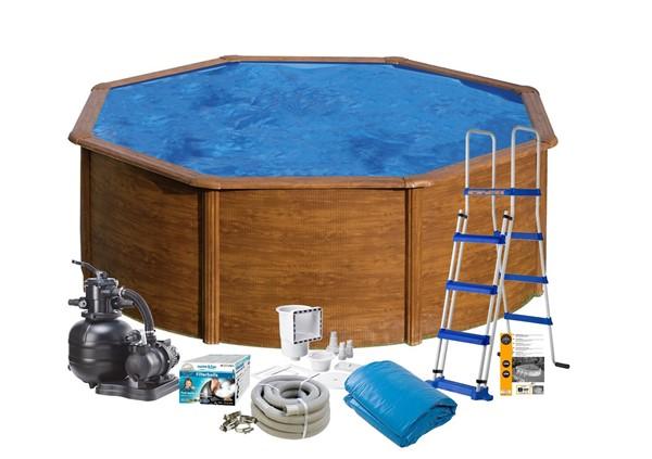 Pool Basic Ø4.60 x 1.20 m. Wood