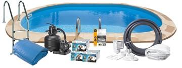 Pool Basic InGround 8.00 x 4.00 x 1.50 m