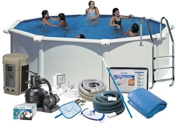 Pool Delux Ø4.60 x 1.32 m. White