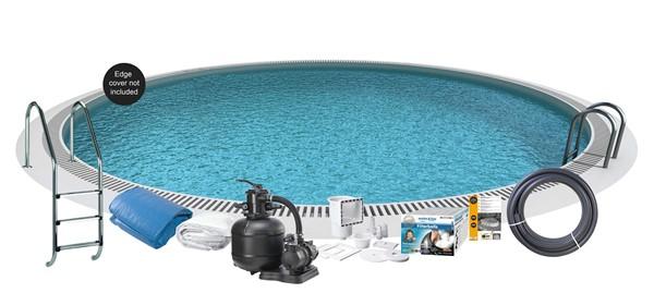 Bild för kategori Nedgravet pool