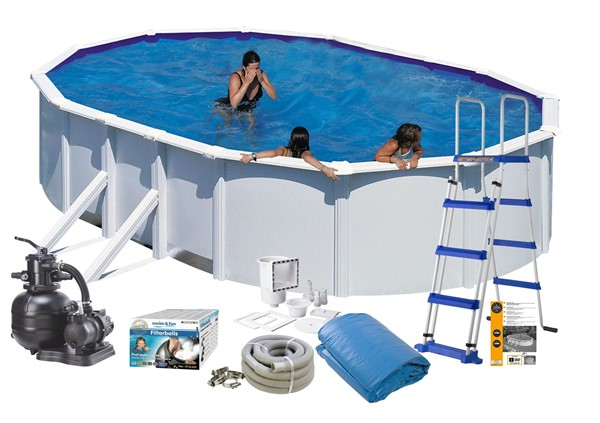 Pool Basic 5.00 x 3.00 x 1.32 White