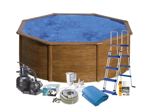 Pool Basic Ø3.5 x 1.20 Wood