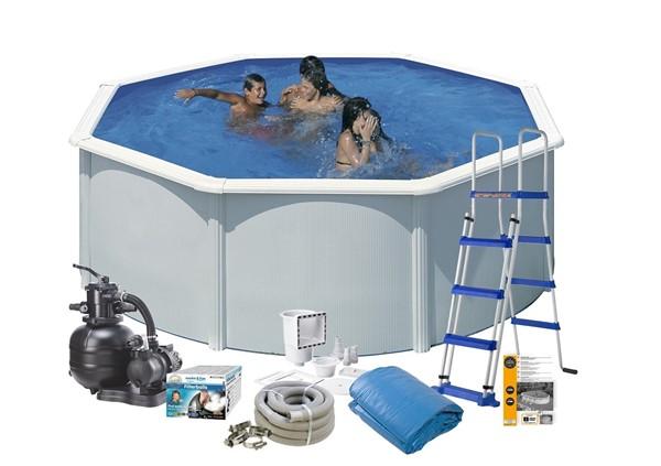 Pool Basic Ø3,50 x 1,20 m. White